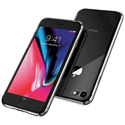 UNBREAKcable iPhone 8 Hülle, iPhone 7 Hülle - Handyhülle iPhone 8/7 Transparent Ultra-Slim Staubdicht, Weiche TPU-Silikon-Schutzhülle für iPhone 8/7 mit Vergilbungs-Schutz - Kristallklar