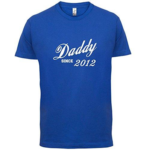 Papa seit 2012 - Herren T-Shirt - 13 Farben Royalblau