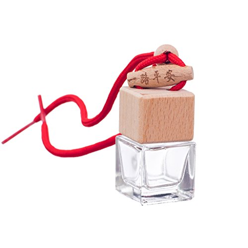 Bouteille En Verre Pendentif Parfum Huile Essentielle Diffuseur Main