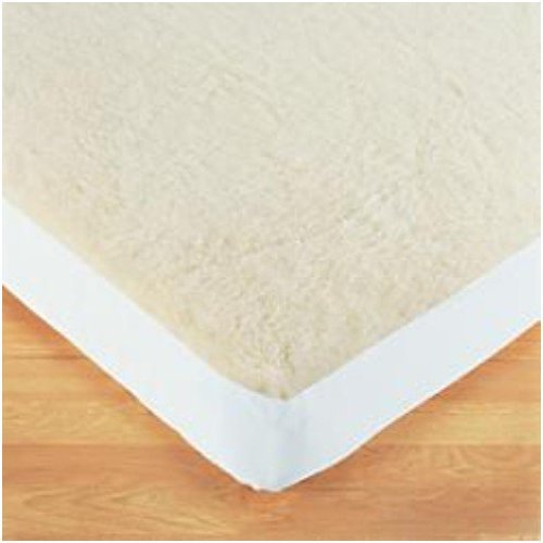 Luxury Double Size Fleecy Underblanket, (SIMULATED SHEEPSKIN)Thermal, Mattress Protector