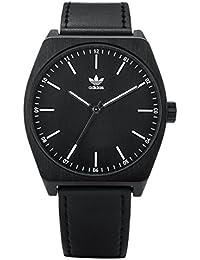 4a8cea64d12b1 Adidas by Nixon Reloj Analogico para Hombre de Cuarzo con Correa en Cuero  Z05-756