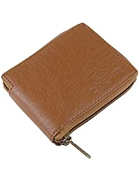 Woodline Tan Men's Leather Wallet (WL Tan Round Chain L)