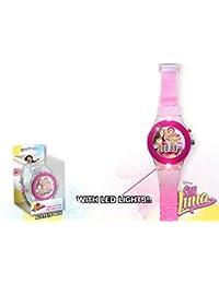 Soy Luna - Reloj digital correa transparente (Kids WD18087)