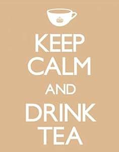 Empire Merchandising 522733 Keep Calm - And Drink Tea Fun Spaß Mini-Poster - Druck - Grösse 40 x 50 cm