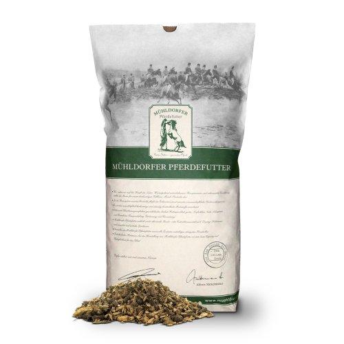 Mühldorfer Pferdefutter Bio-Kräutermüsli, 1er Pack (1 x 20 kg)