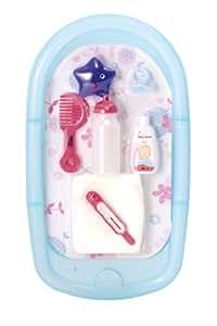 Smoby - 24648 - Poupée - Baby Nurse - Set Baignoire et Accessoires
