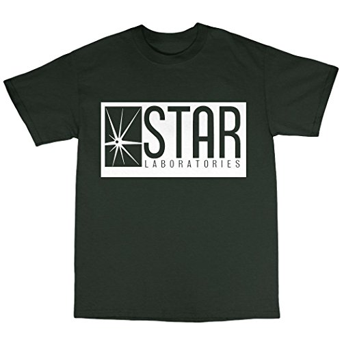 Star Laboratories T-Shirt 100% Baumwolle Waldgrün