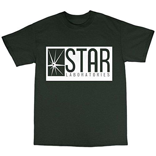 Star Laboratories T-Shirt 100% Baumwolle Waldgrün