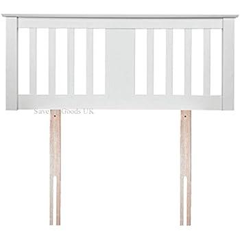 sweet dreams kestrel white wooden small double 4ft headboard includes fittings