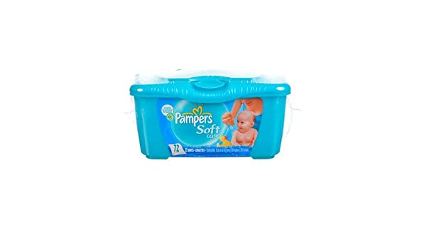 12-48 Verpackung Pampers Feuchttücher Fresch Clean 64 Tücher in der Packung