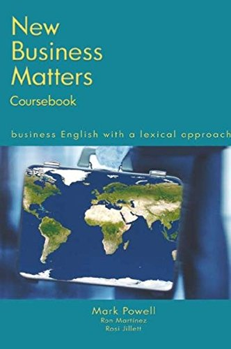 New Business Matters. Coursebook