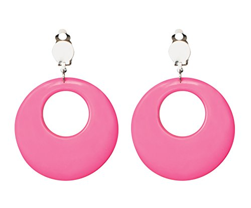 Neon rosa Ohrringe