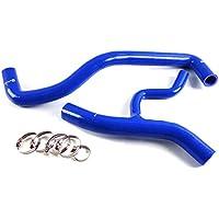 Speedmotor in silicone tubo flessibile del liquido di raffreddamento radiatore kit per Ford MUSTANG 4.6L V81996–2004, colore: blu