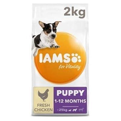 IAMS for Vitality Puppy Food Small/Medium Breed Fresh Chicken from IAMS
