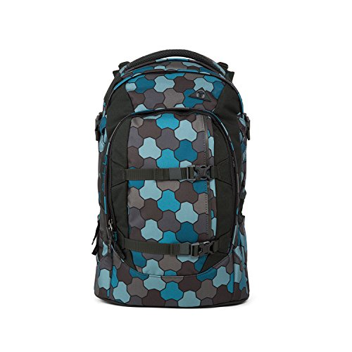 90741d5408246 Satch Pack by Ergobag - 2tlg. Set Schulrucksack (+SchlamperBox Etui) - Ocean