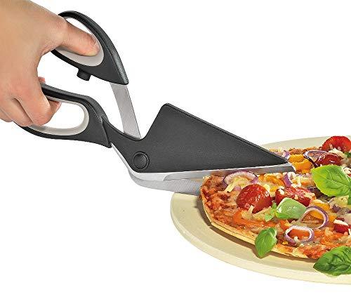 Küchenprofi KP804980000 Pizzaschere-KP804980000 Pizzaschere, Rostfreier Stahl, Edelstahl, schwarz