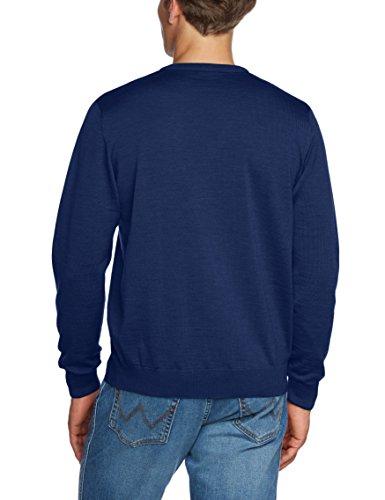 Maerz Herren Pullover 490400 Blau (Twilight Blue 396)