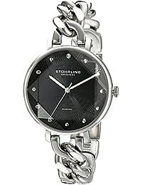 Stuhrling Original Reloj con movimiento cuarzo suizo Woman Vogue 596 Dress 38.0 mm
