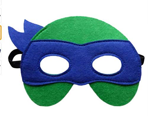 1 stücke Ninja Turtles Maske Captain America Teenage Mutant Ninja Turtles The Avengers Kind Geburtstagsgeschenk Cosplay Party TMNT Masken, J (Kostüme Mutant Ninja Teenage Turtles-mädchen)