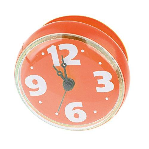 reloj-de-pared-de-la-ducha-lommer-abs-y-goma-impermeable-reloj-de-pared-con-ventosa-para-bano-naranj