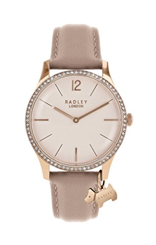 Radley Millbank Dusty Rose Leather Strap Watch RY2524 Best Price and Cheapest