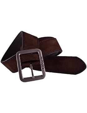 Mens Casual Bund automatische Schnalle Gürtel Taille Lederband Gürtel Tefamore