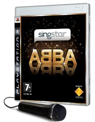 Ps3 Singstar - Pack micro filaire + singstar ABBA -