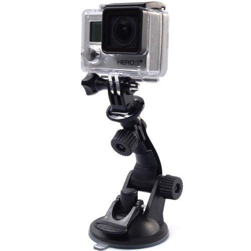 Shoot® Saugnapf Halterung für GoPro Hero 6/5/4/3/2, Action Cams