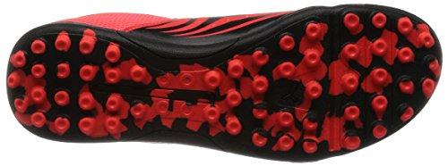 Puma Unisex-Erwachsene Evostreet 3 F6 Fußballschuhe Rot (Blk/Wht/Red)