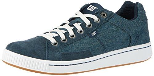 Caterpillar Cadre Canvas, Sneakers Basses Homme Bleu (Mens Navy)