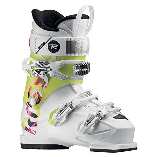 Rossignol-Schuhe Ski Kelia Rental-White/Citrus-Damen-Größe 42,5-Weiß, weiß
