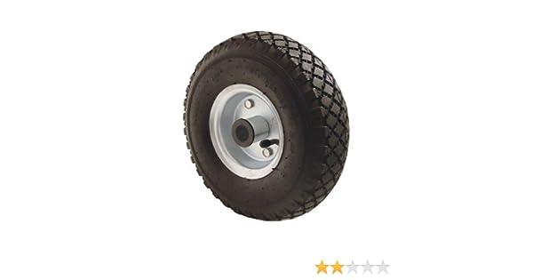 Bockrolle Stahlfelge 260x85mm 3.00-4 Luftrad Rad Reifen Kugellager Laufrad 130kg
