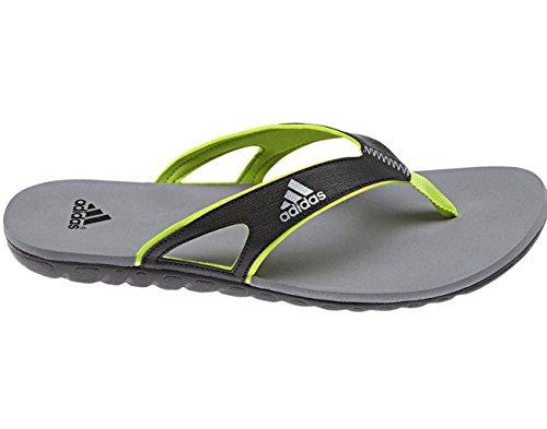 Adidas sailing Flip Flops Badelatschen Calo 5 Classic Slides, Farbe:Dark Grey;Größe:42
