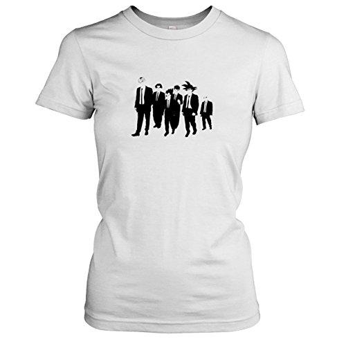 Dogs Reservoir Kostüm - TEXLAB - DBZ: Dogs - Damen T-Shirt, Größe M, weiß