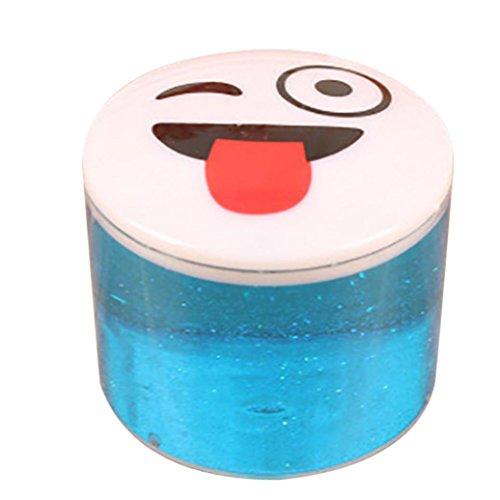 Xshuai 3,5 * 4,5 cm Ton Slime DIY Kristall Schlamm Spielen Transparent Magie Plasticine stressabbau Kid Spielzeug (Diy Kostüm Piraten Jungen)