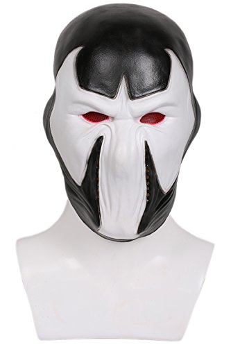 Kostüme Bane Cosplay (Bane Maske Cosplay Erwachsene Herren Classic Deluxe Latex Helm Halloween Fancy Dress Kostüm)