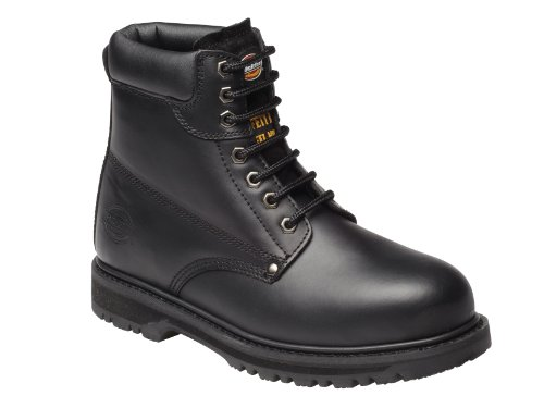 Dickies Mens Workwear Cleveland Super Safety Boot Black FA23200B Super Safety Boot