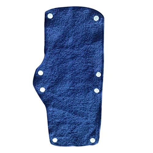Moonuy Drücken des Rades 1/2 / 6PC Summer Selling Beat Das Heat Blue Snap-on-Schweißband mit Schutzhelm trotzt der Hitze Cover Blue Snap