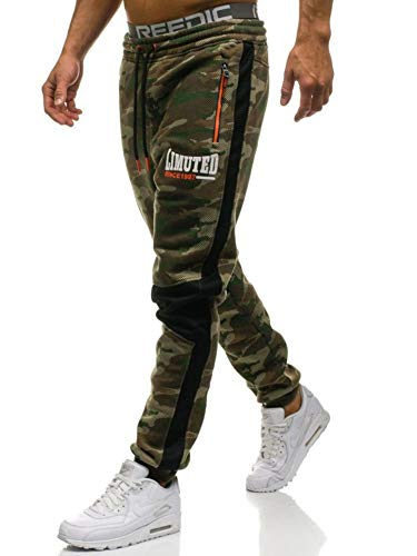 BOLF Hombre Pantalón De Chándal Pantalones