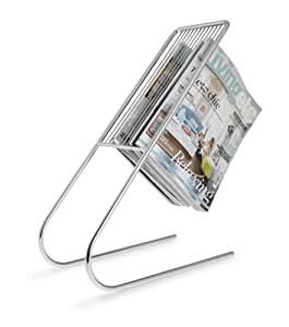 j-me JMFLOATCH Floating Magazine Holder Chrome