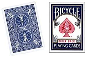 Jeu Bicycle Bleu (format poker, US Playing Card Company)