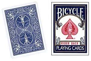 Preisvergleich Produktbild Pokerkarten Bicycle Blau