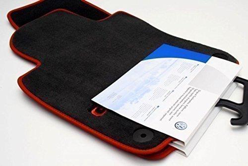 Preisvergleich Produktbild Original Volkswagen VW Ersatzteile VW Golf 5 GTI Velours Fußmatten, vorn