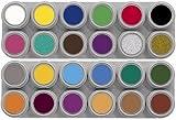 Grimas Water Make-up, 24-Farben-Palette