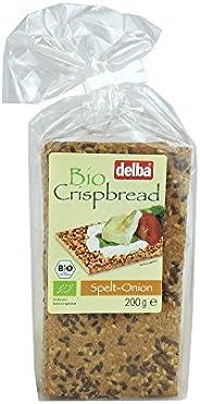 Delba Crispbread Spelt Onion - 200 Gm