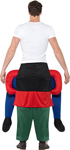 Imagen de smiffy 's–disfraz de gnomo de 48818piggyback, verde, un tamaño alternativa