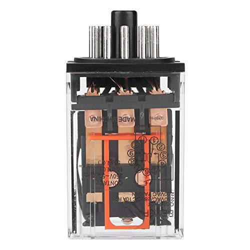 MK3P-I AC 10A 220V Elektromagnetisches Relais, Universalrelais Leistungsrelais,11 Pins 3Z 11 Relais