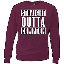 trvppy Hombre Sweater Jersey modelo Straight Outta Compton, en varios. Colores