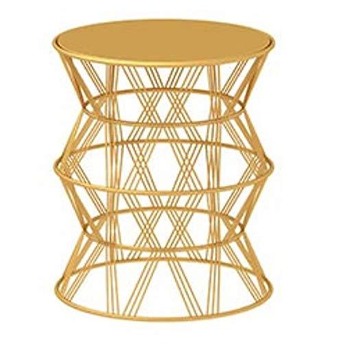 Folding table NAN Creative Beistelltisch - Wohnzimmer-Ecke Nordic Modern minimalistisches Sofa Seite Balkon Marmor Couchtisch - 48 * 56 cm (DREI...