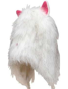 Dare 2b Da Bambina, foderato in finta pelliccia di gatto bianco 7–10anni rosa orecchie starspin